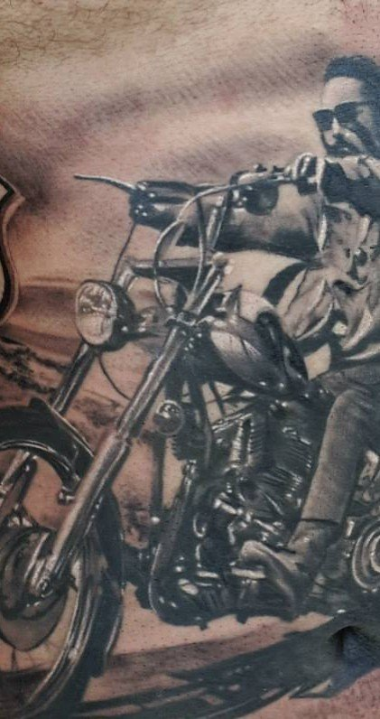 Easyriders Magazine Centerfold Center Fold David Mann Biker Man Cave have 60