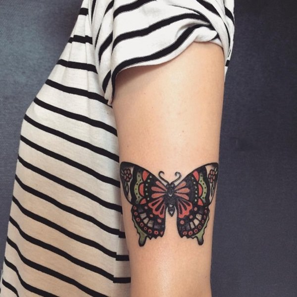 Schmetterling- Tattoos-58