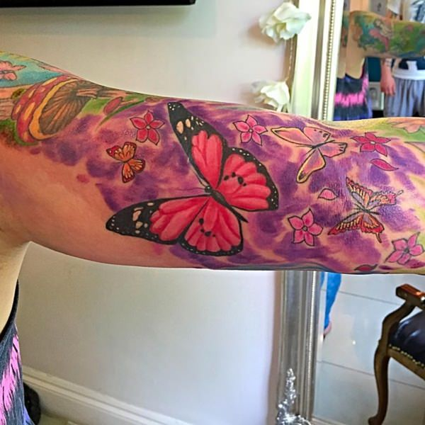 Butterfly tattoos-60