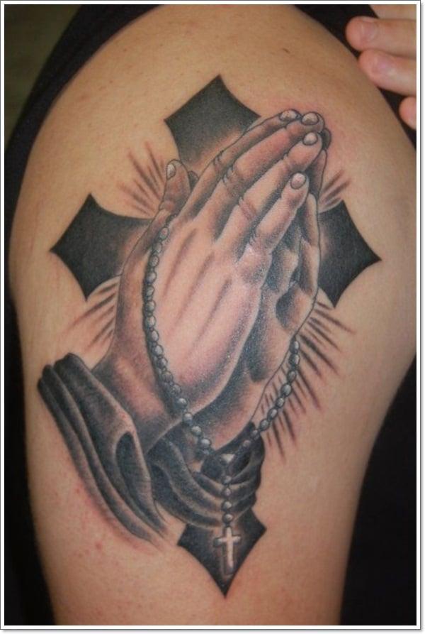praying hand tattoos 4