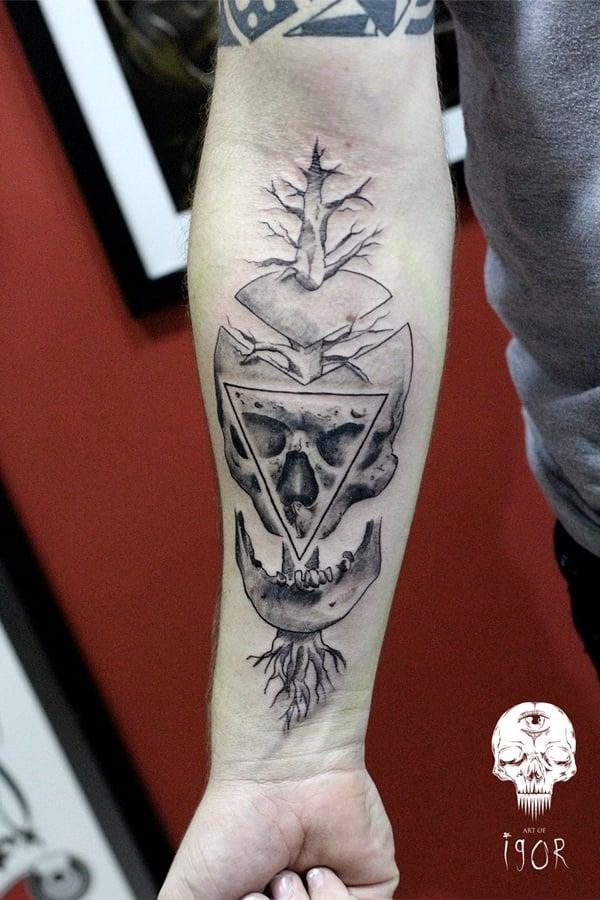 2-skull-tattoos