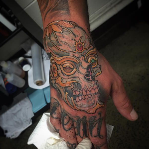 22 skull tattoos