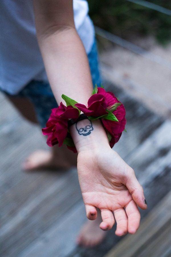25- Skull Tattoos