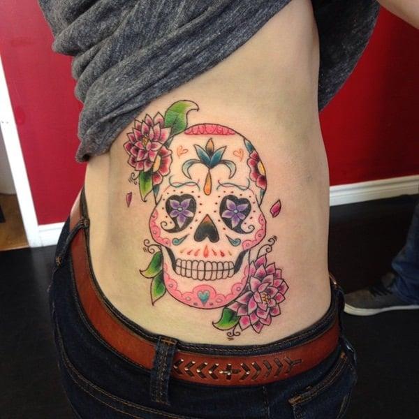 34 skull tattoos