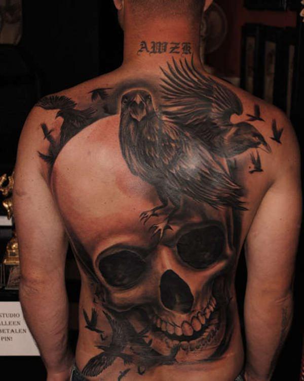 55 Skull Tattoos