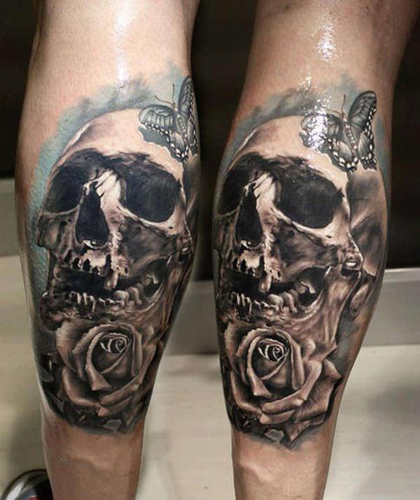 57 Skull Tattoos