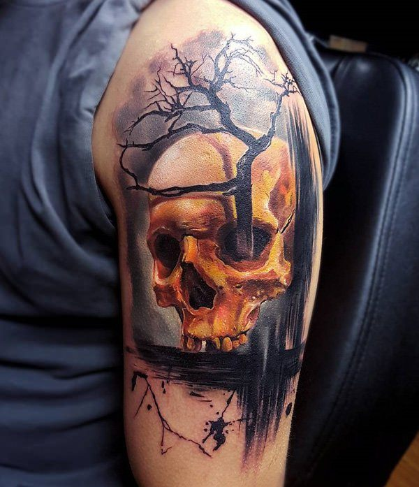 64 Skull Tattoos