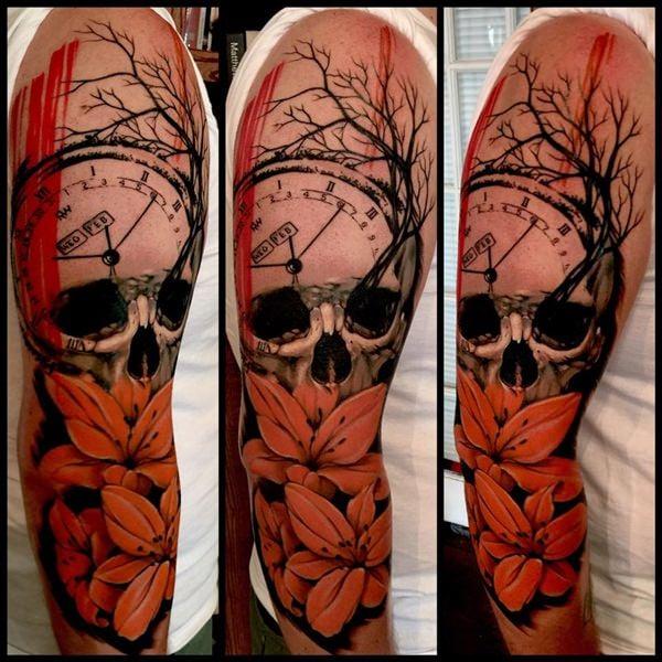 9 Skull Tattoos