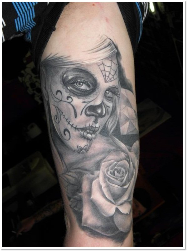 Day of the Dead tattoos 2