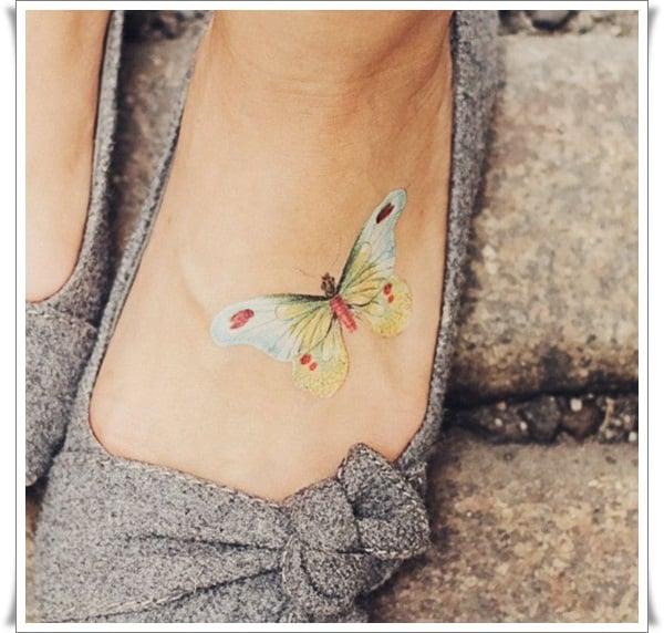 Watercolor tattoos 12