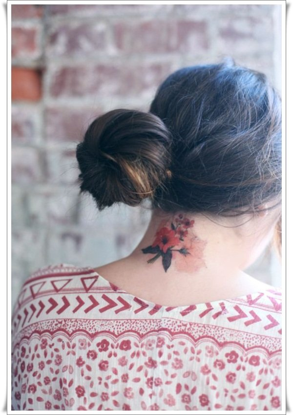Watercolor tattoos 8