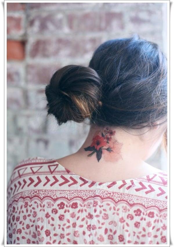Watercolor tattoos 8