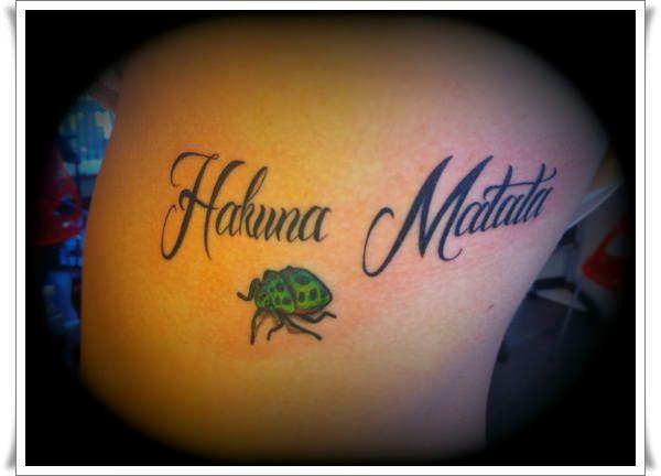 Hakuna Matata Tattoos 10