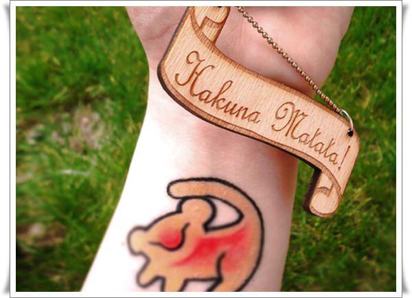 Hakuna Matata Tattoos 16