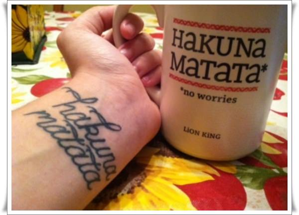 Hakuna Matata Tattoos 4