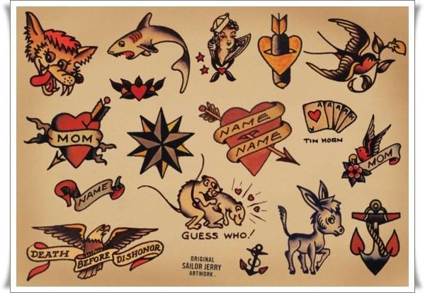 Sailor Jerry Tattoo Designs Book