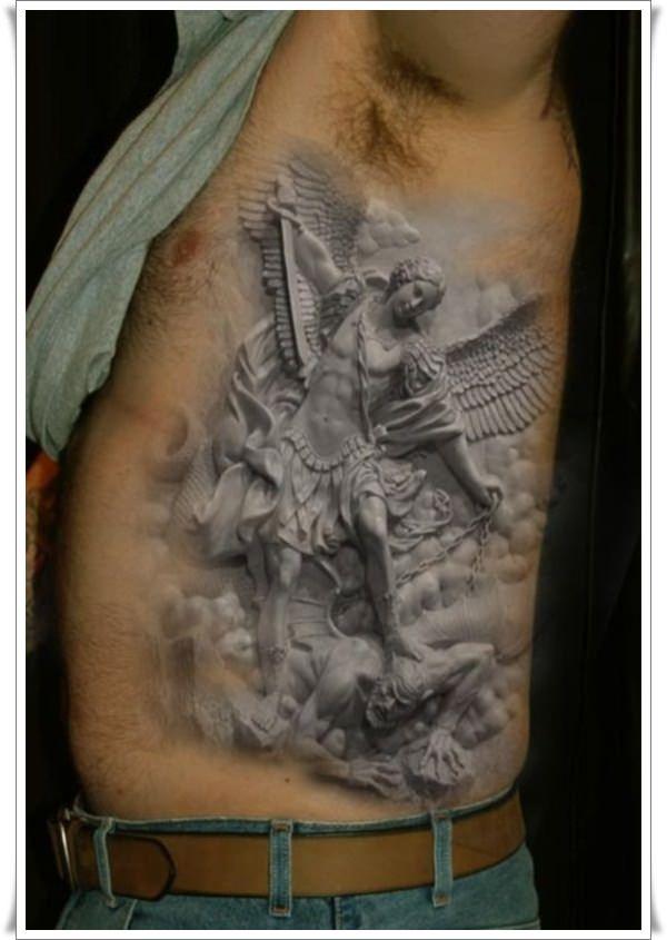 st michael tattoo ideas