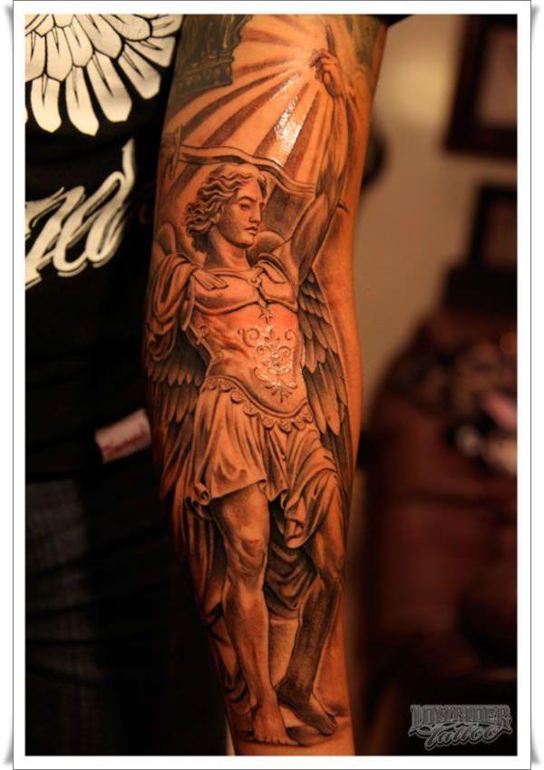 st michael tattoos 1