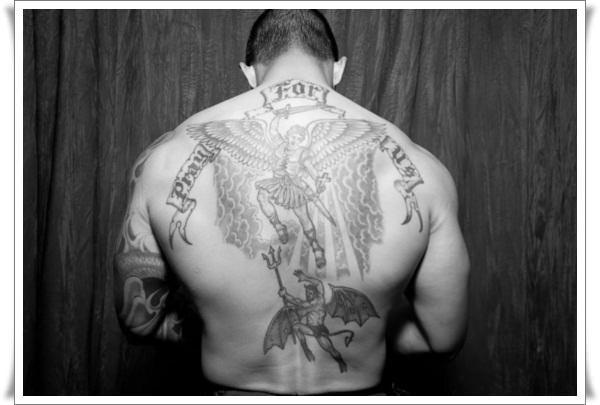 st michael tattoos 12