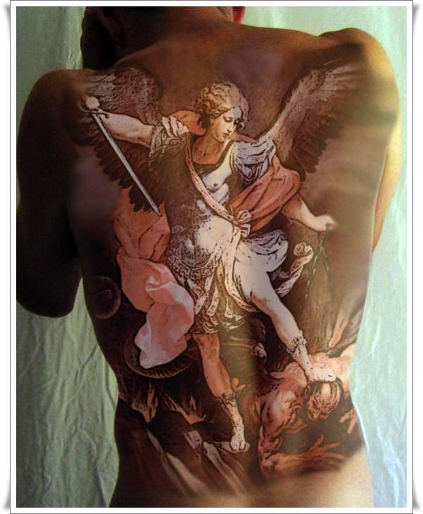 st michael tattoos 14