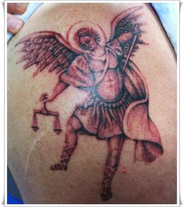 st michael tattoos 17