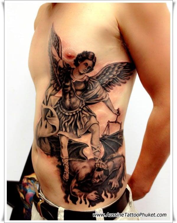 st michael tattoos 2