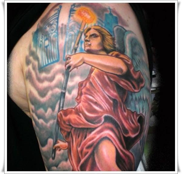 st michael tattoos 20