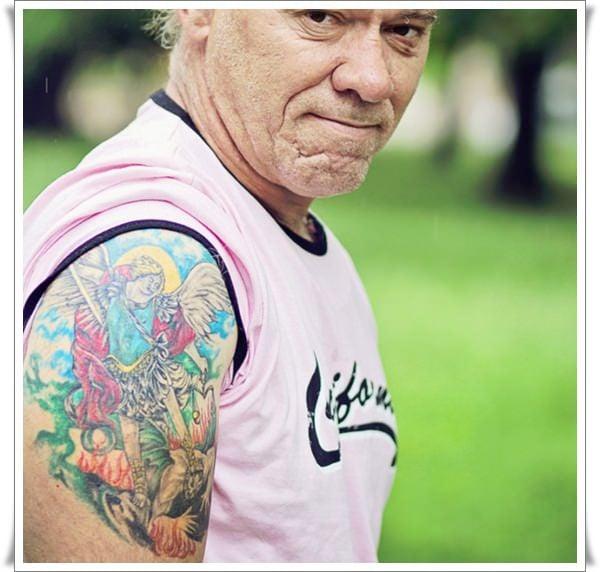 st michael tattoos 26