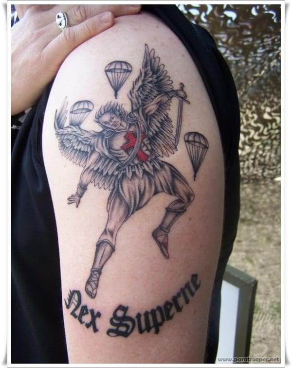 st michael tattoos 27