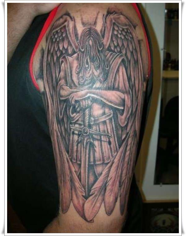 st michael tattoos 3