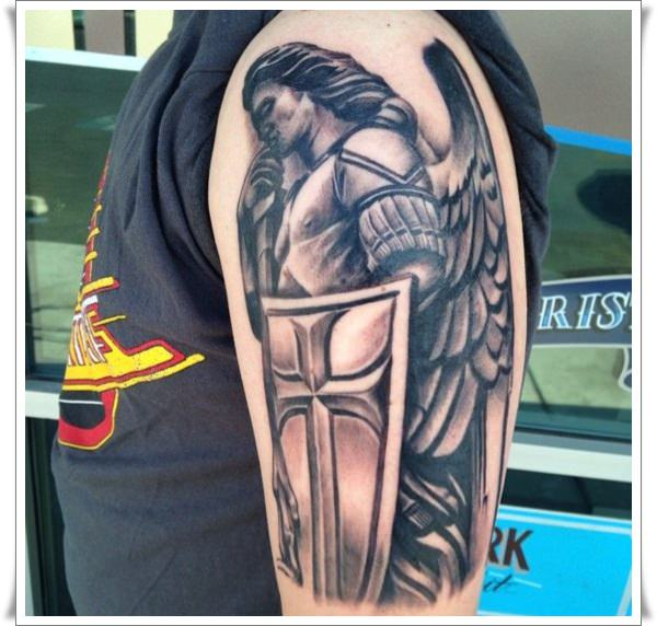 st michael tattoos 4