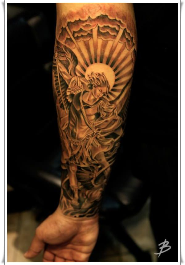 St Michael's tattoos 5