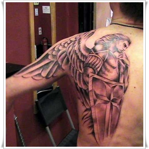 St Michael's tattoos