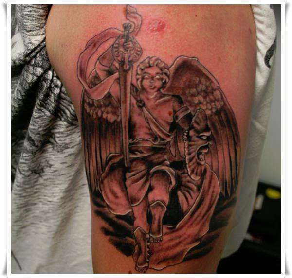 st-michael-tattoos