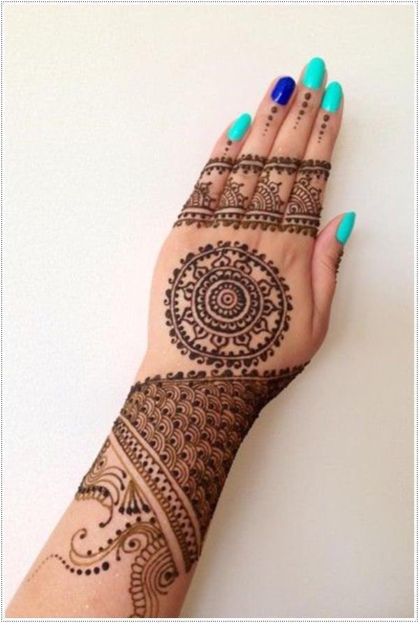 Henna Tattoo 3
