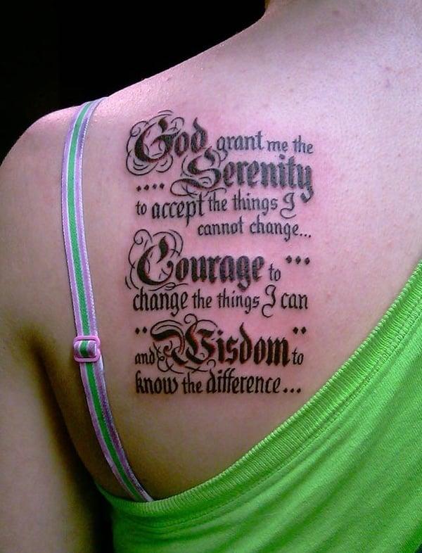 Serenity Tattoo