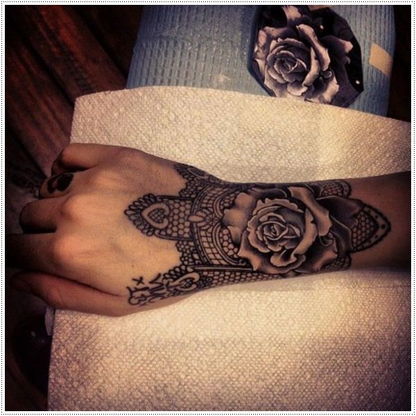 Henna Style Tattoos Lace Tattoo: 75+ Henna Tattoos That Will Get Your Creative Juices Flowing