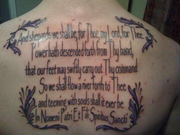 25 graceful serenity prayer tattoos for Boondock saints tattoos