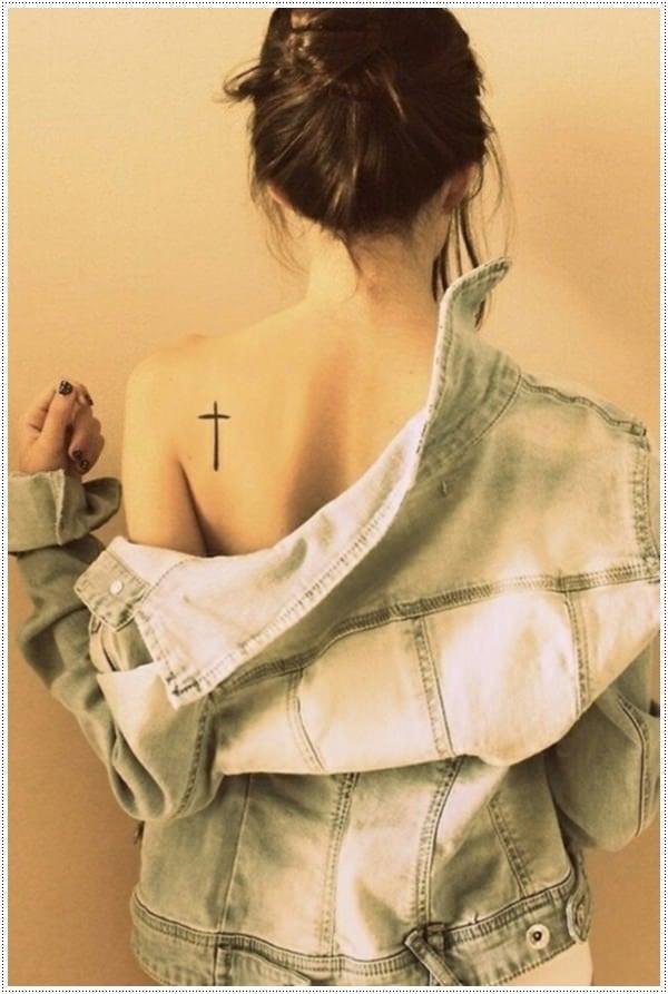 small cross tattoo1