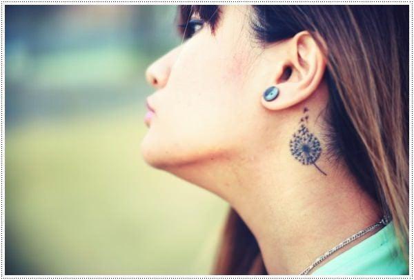 Dandelion Tattoo 11