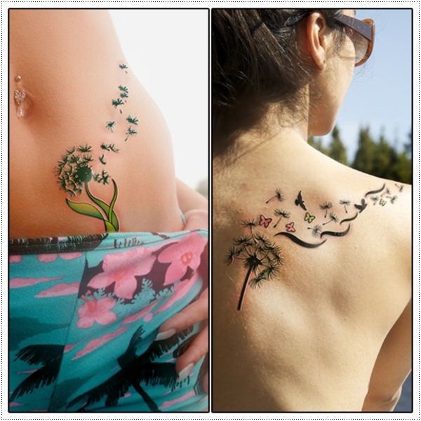 Dandelion Tattoo 16
