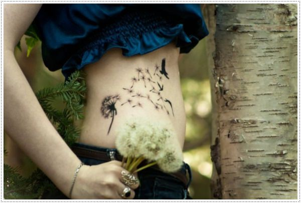 Dandelion Tattoo 20