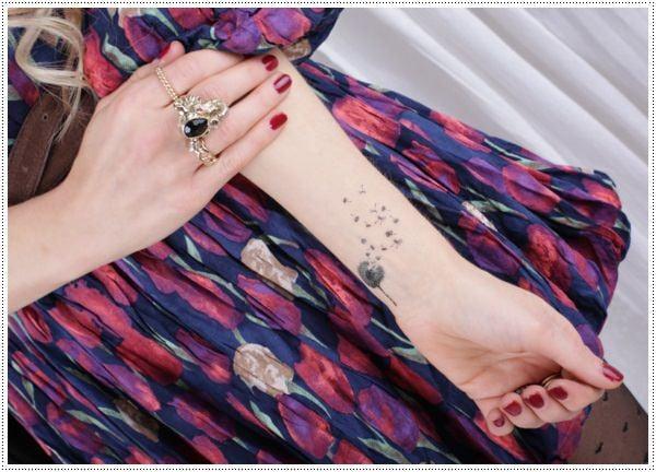 Dandelion Tattoo 22