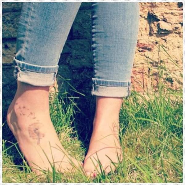Dandelion Tattoo 6