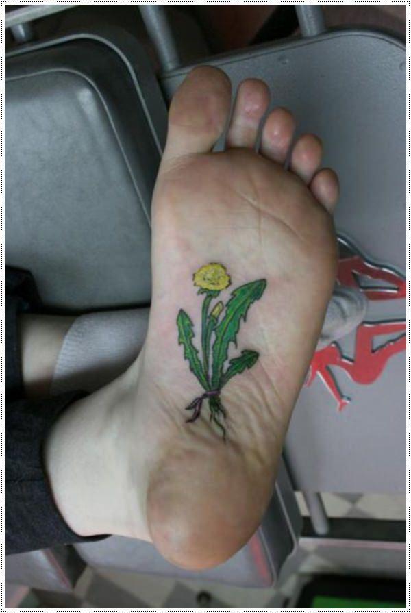 Dandelion Tattoo 7