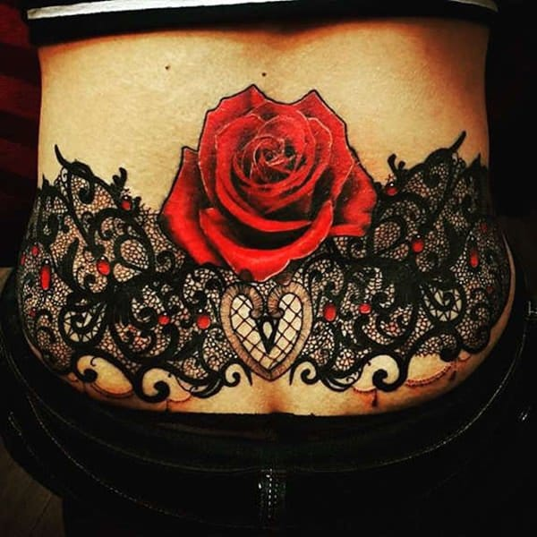 45 Sexy Lower Back Tattoos For Girls