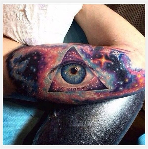 50 Breathtaking Space Tattoos (With Pictures & Ideas