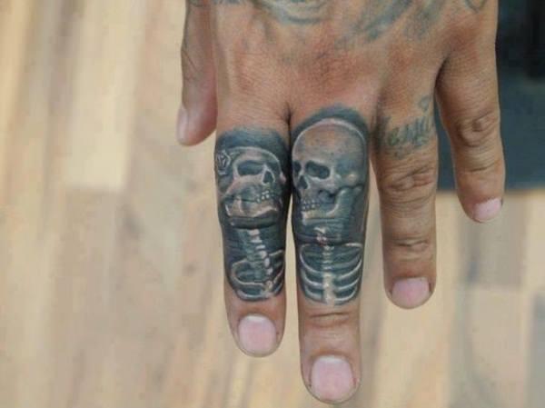 65 Fun Fierce And Funky Finger Tattoos