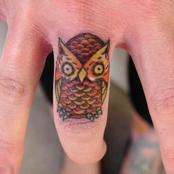 Finger Tattoos 15