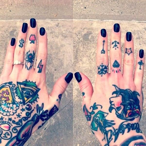 Finger Tattoos 18